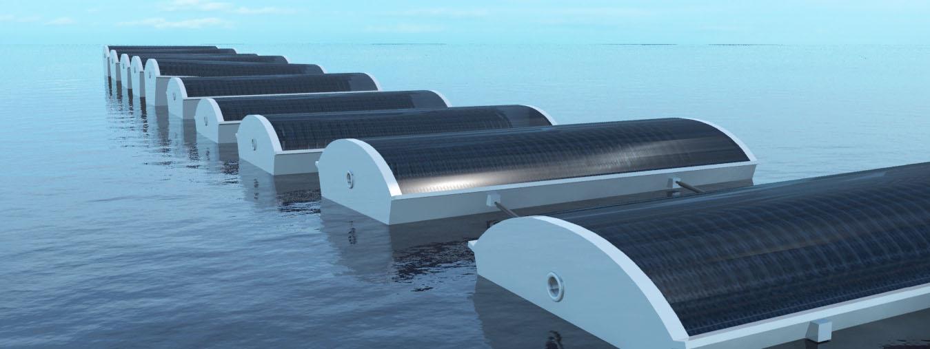 تحلية مياه البحر بالطاقة الشمسية