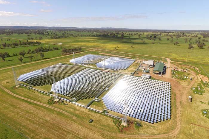 توليد الكهرباء بالطاقة الشمسية
