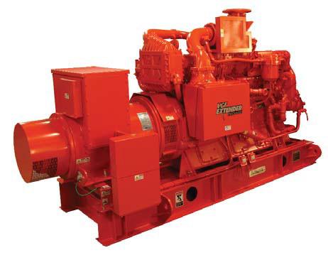 ايجار المولدات الكهربائية Waukesha Gas Genset 310 KW