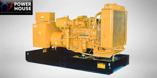 ايجار مولدات كهربائية CAT Diesel Genset 300 KVA