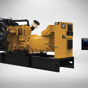 تأجير المولد الكهربائي CAT Diesel Genset 500 KVA