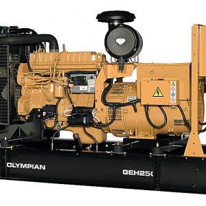 تأجير المولد الكهربائي CAT Olympian Diesel Genset 200 KVA GEP200-1