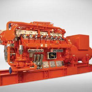 تأجير المولد الكهربائي Waukesha Gas Genset 760 KW