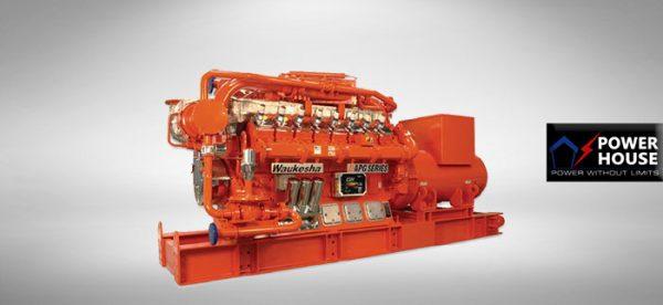 Waukesha Gas Genset 760 KW